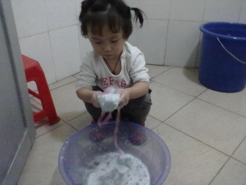 小手洗一洗步骤图