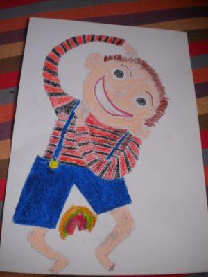 《我家是个动物园》自绘本