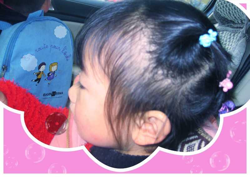新发型—可爱的小姑娘