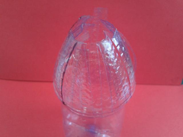 矿泉水手工制作花瓶