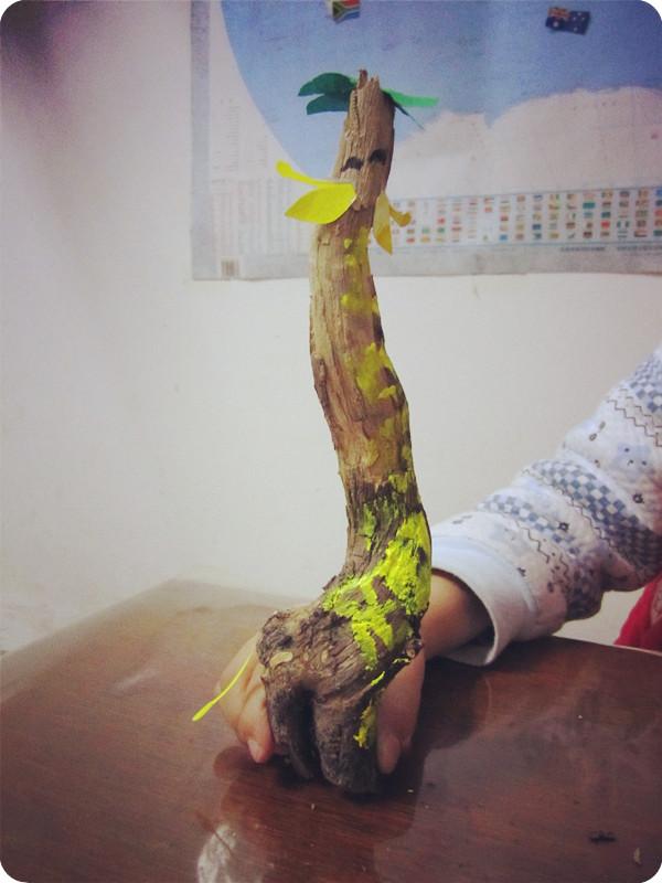 创意树枝之二——长颈鹿