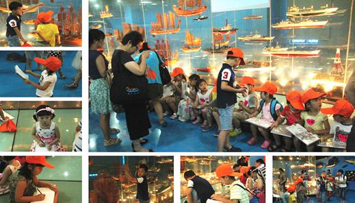 游记 上海儿童博物馆写生 - 宝宝地带