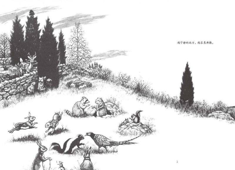 兔子坡简笔画