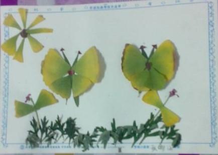 儿童手工制作叶子