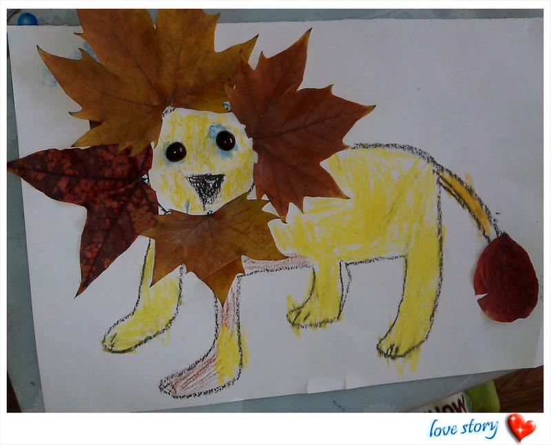 儿童手工制作大全秋天的画
