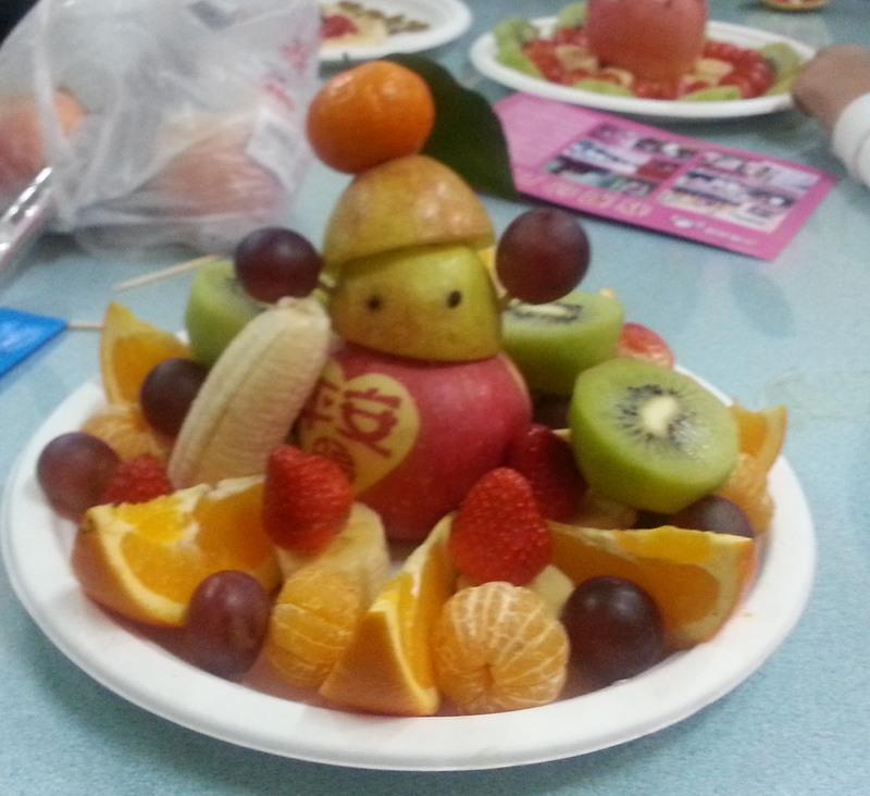 水果拼盘--孤独的小雪人 - 宝宝地带
