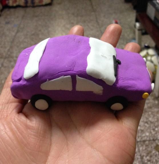 学做粘土小汽车