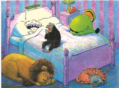 这时候大家都没有发现,直到管理员的妻子起床,发现了家里住满了小动物