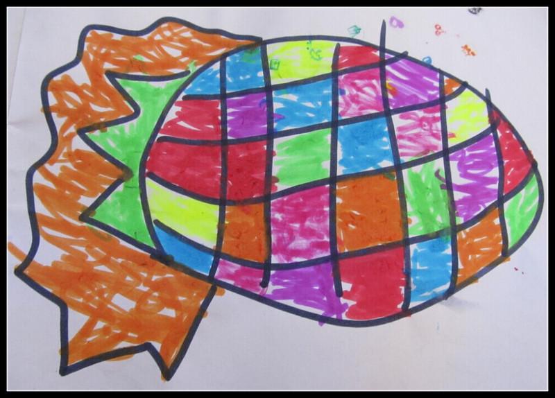 儿童涂色 猪猪侠