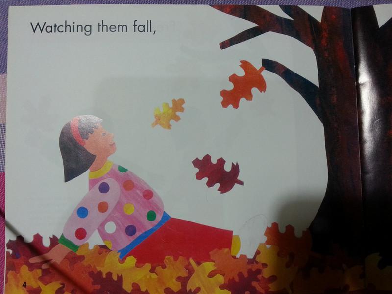 【秋天的绘本】因时制宜选读好绘本——《fresh autumn leaves》