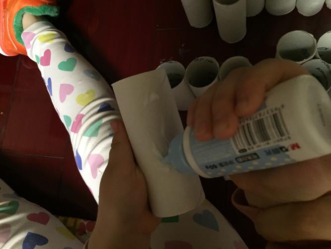 手工diy------纸筒圣诞树