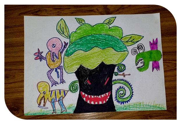 幼儿园简笔画风景画