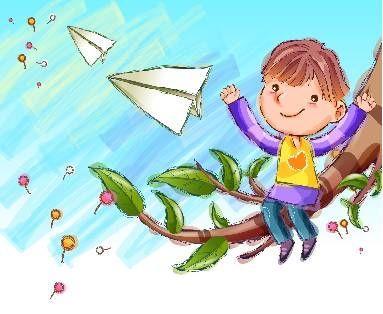 童年趣事图片儿童画