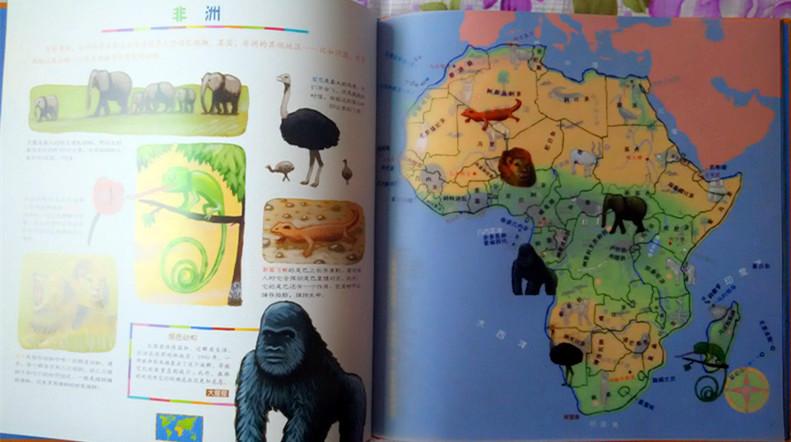 《我的第一次动物大发现儿童地图绘本》
