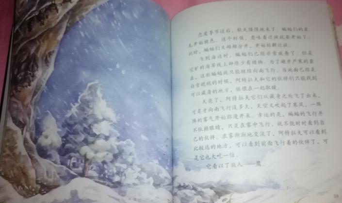 西顿动物故事---《蝙蝠阿特拉夫》读书心得