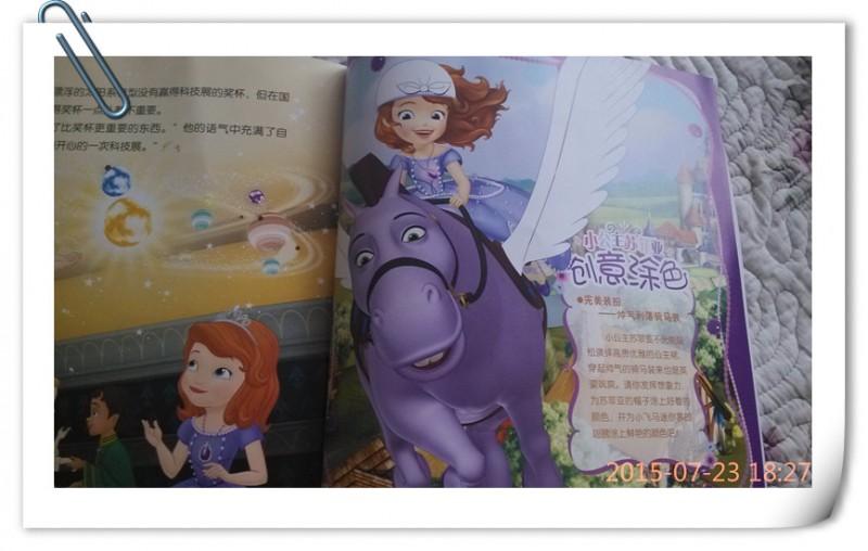 小公主苏菲亚—王子也爱看公主的故事