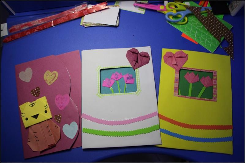 教师节diy手工贺卡,更代表爱老师的心