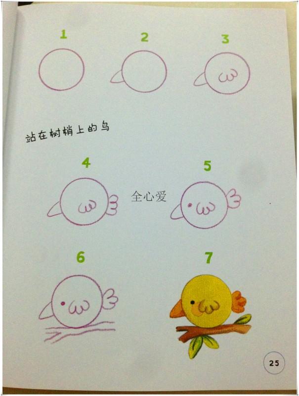 生动有趣的简笔画 鸡是半圆形,猫是圆形 书评