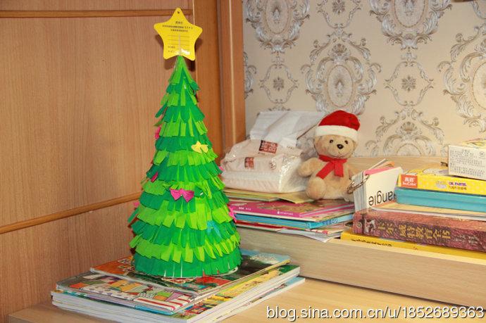 圣诞节的手工-圣诞贺卡和圣诞树 - 宝宝地带