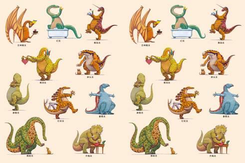 【第1154期试读】《家有恐龙习惯养成图画书(共11册)》(1230--0108
