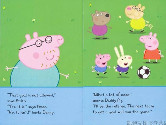 小羊苏西简笔画-粉红猪小妹 英文原版 全10册 0324 0405