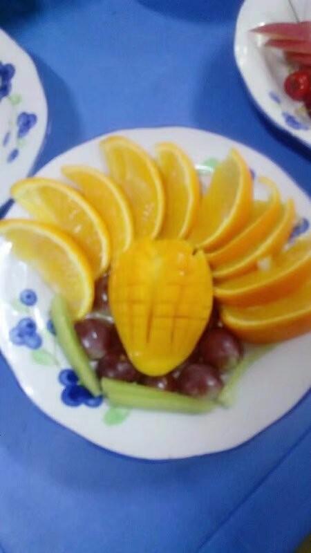 群里今天发钱了图片_幼儿园的水果宴 - 宝宝地带
