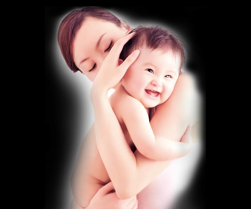 强生婴儿-强生-婴儿-母子-广告-海报150DPI