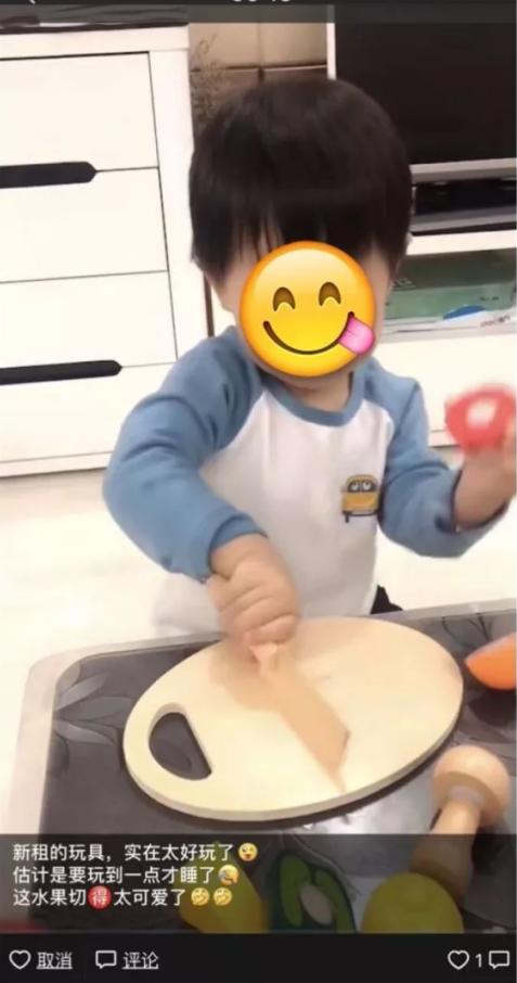 新租的切水果玩具