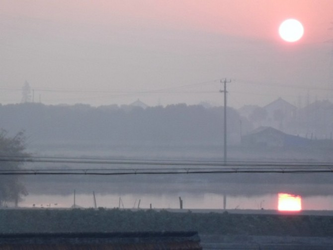 首页 育儿论坛 美食旅游 风景秀丽 我拍的早晨的太阳