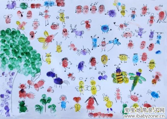 创意儿童画绘本