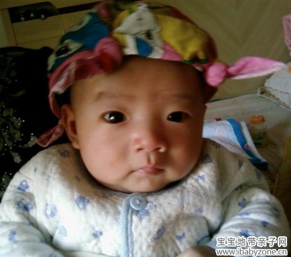 【可爱宝贝秀出来】 帽子必不可少的装饰物品 隶涵妈妈