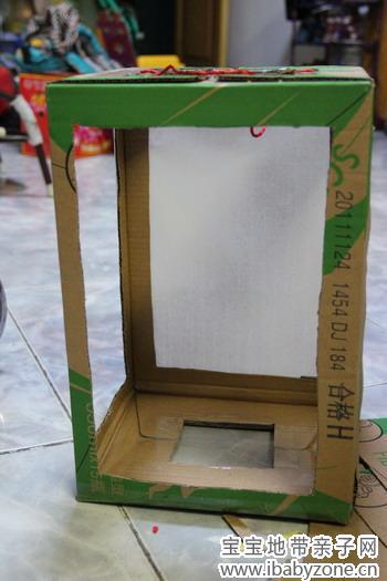 纸箱手工制作灯笼图片