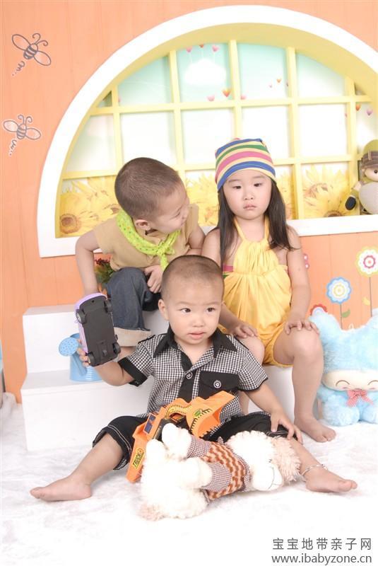 「可爱的三姐弟」 - 宝宝地带
