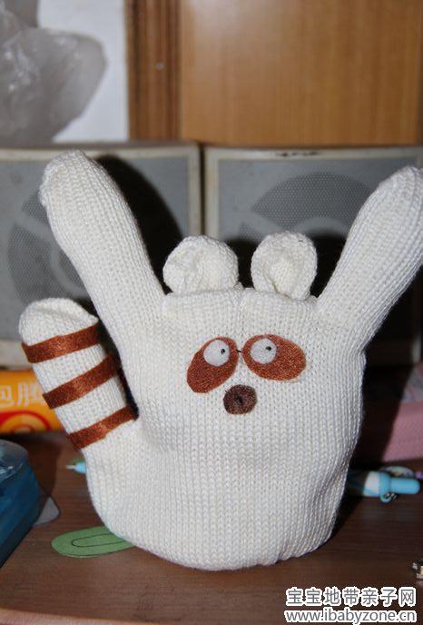 手套动物——又见幼儿园手工作业