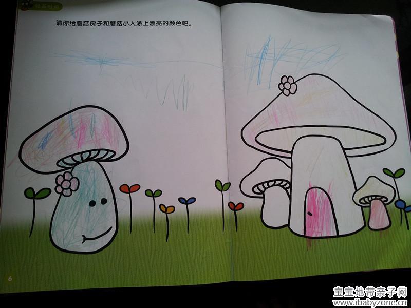 兔子图片简笔画涂色