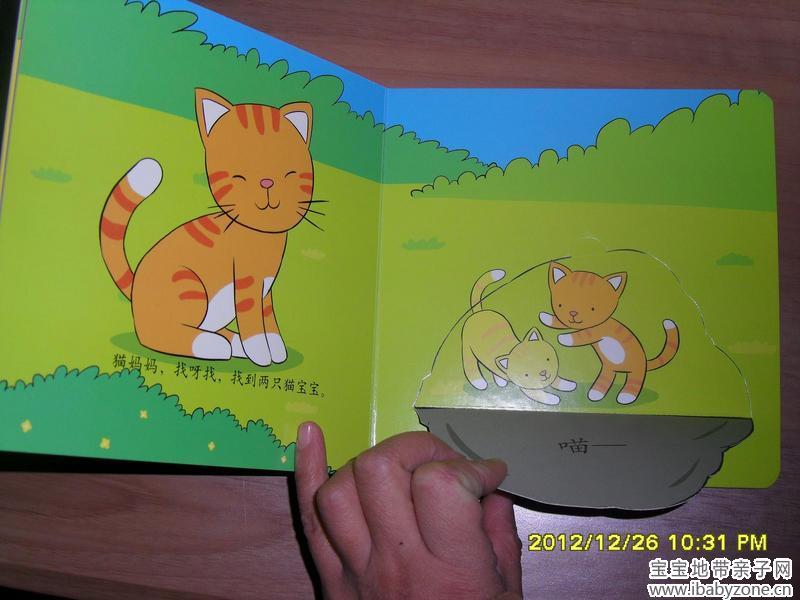 认知读物+我获了这本编故事的书:《小动物在哪里》