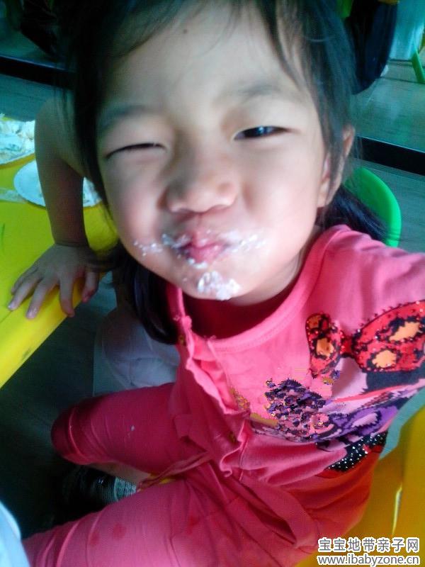 【晒晒宝宝的鬼脸照】 爱笑的眼睛 可欣妈