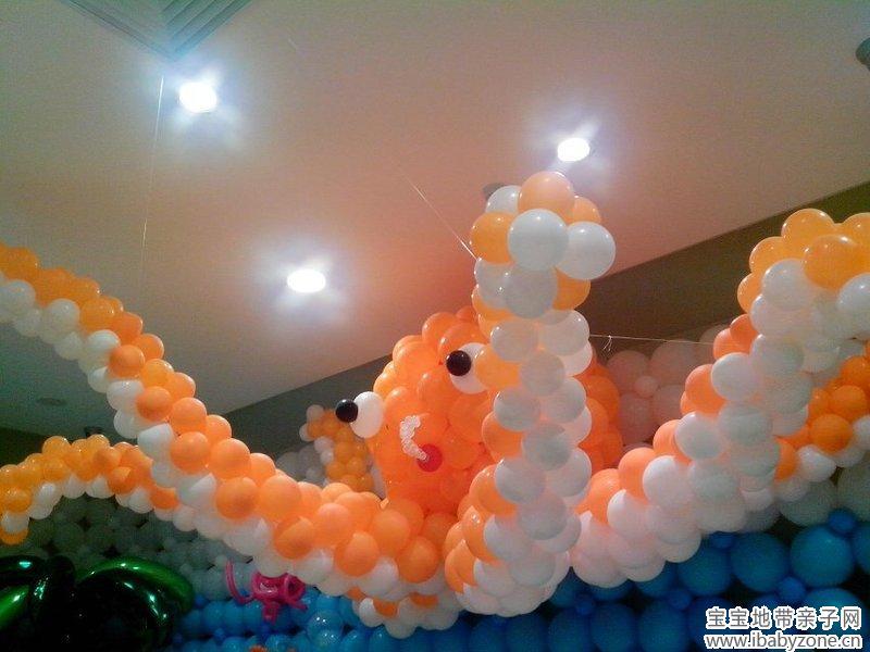这个是气球做成的大章鱼