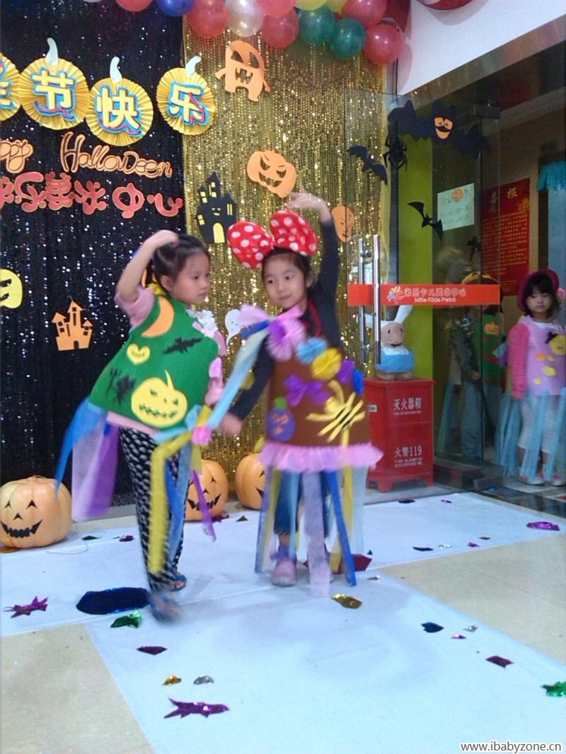 育儿论坛 童真童趣 手工diy 自己动手制作万圣节服装  在制作的过程中