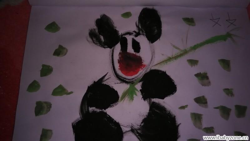 学前班一个学期的美术作品