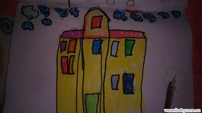 童真童趣 成长事记 学前班一个学期的美术作品  接下来的是水粉画图片