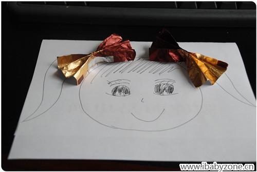 【小糖纸,大舞台】 有蝴蝶结的女孩子
