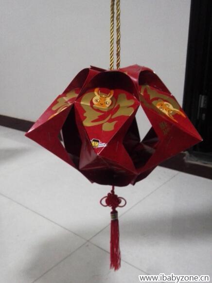 红包做灯笼!