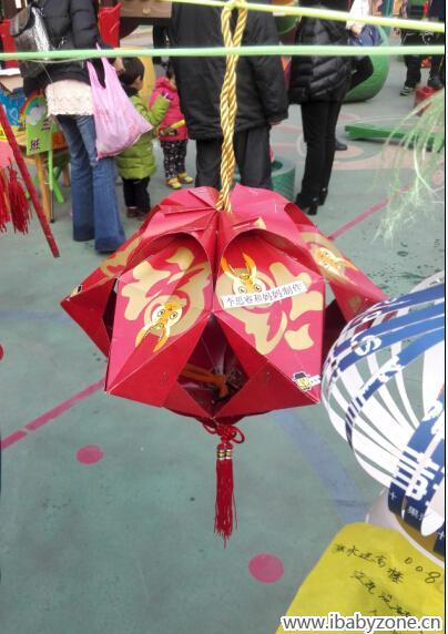 环保新模式,红包做灯笼!