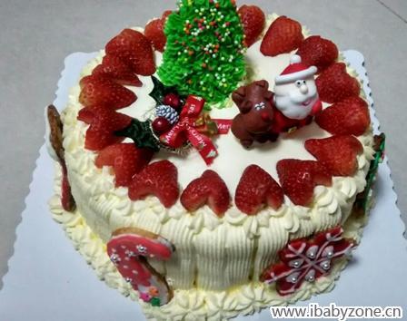 定制紅色蛋糕設計