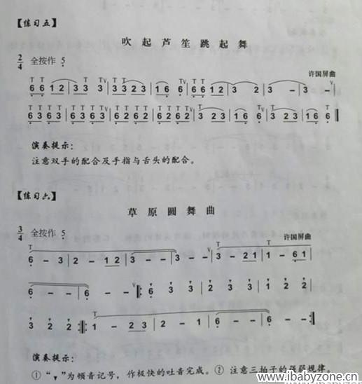 第4节葫芦丝课