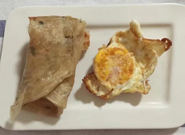 1手抓饼鸡蛋