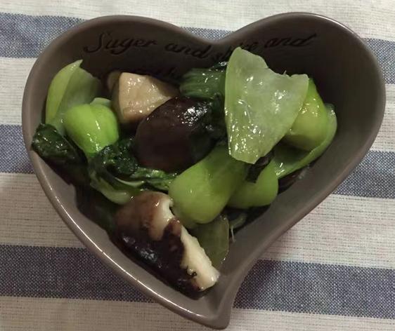 3香菇青菜