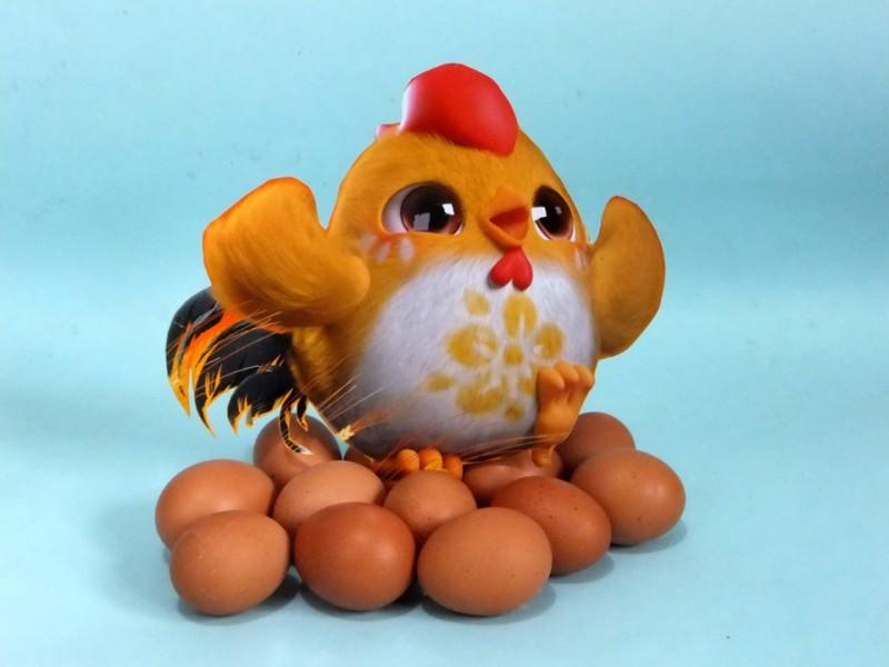 护蛋小萌鸡