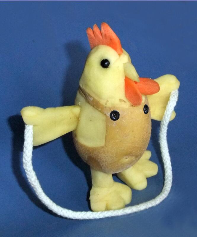 跳绳土豆鸡